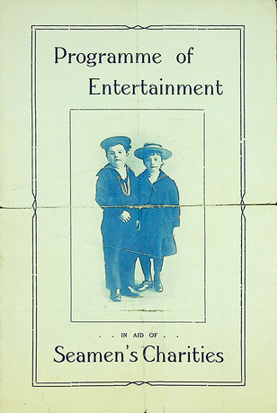 A printed concert program.